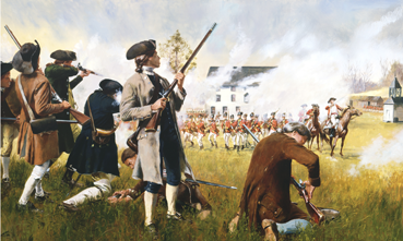 Long brown coat, frontier brown shirt, rifle, and standing above most of his fellow soldiers, Joseph went to war.
